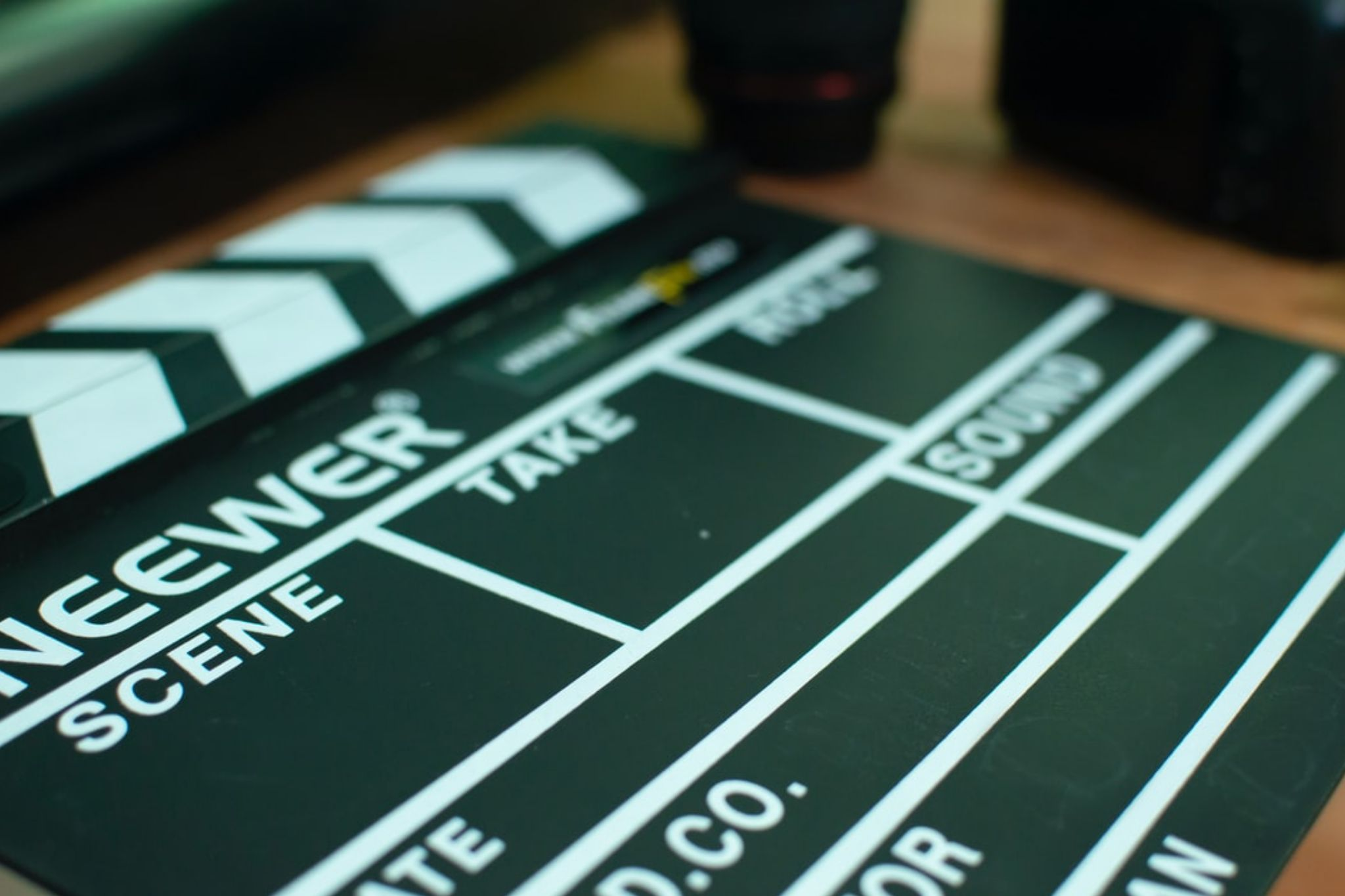 How to Profit from Video in the Cannabis Industry blog post featured image director's clapperboard