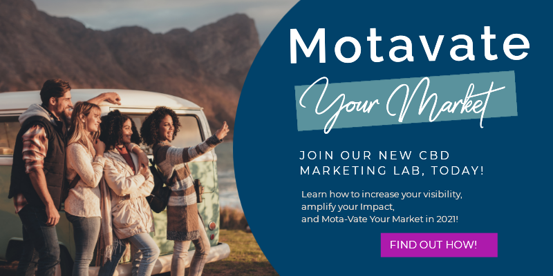 motavate your market CBD marketing lab